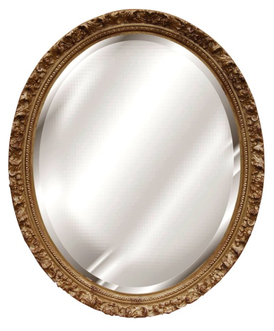 Hickory manor house baroque oval mirror hickory manor for Baroque oval mirror