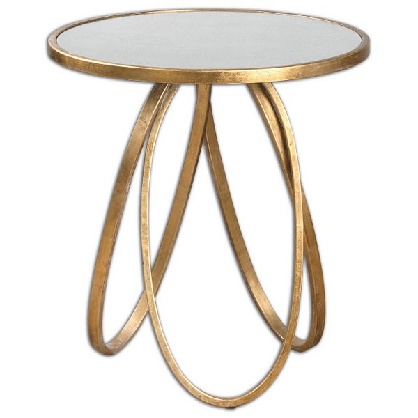 Uttermost Montrez Gold Accent Table | 24410