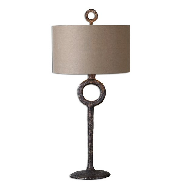 Uttermost Ferro Cast Iron Table Lamp Uttermost Item 27663