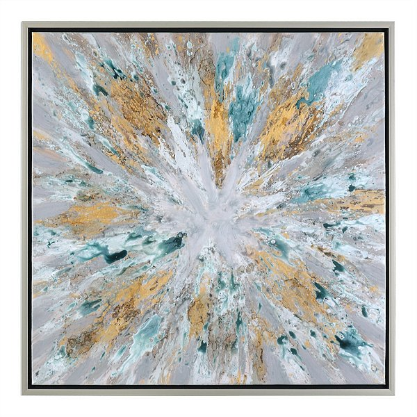 Uttermost Exploding Star Modern Abstract Art | 34361