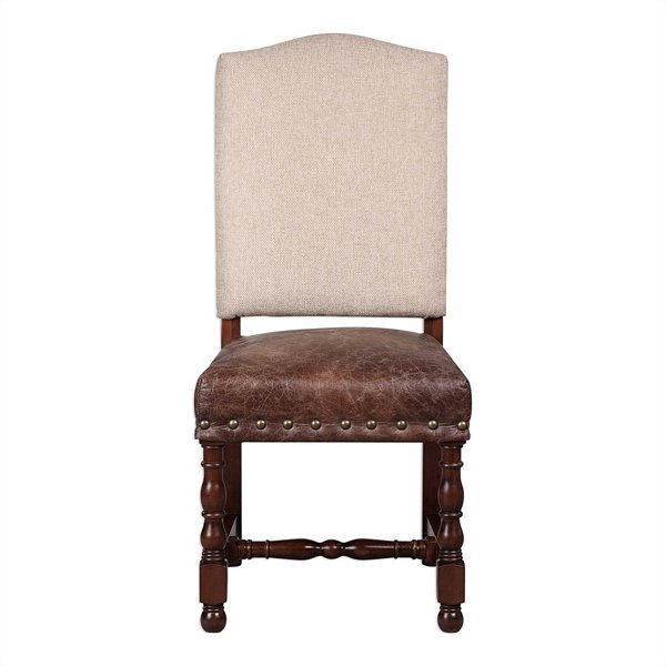 Uttermost Roman Accent Chairs, Set/2 | 23324
