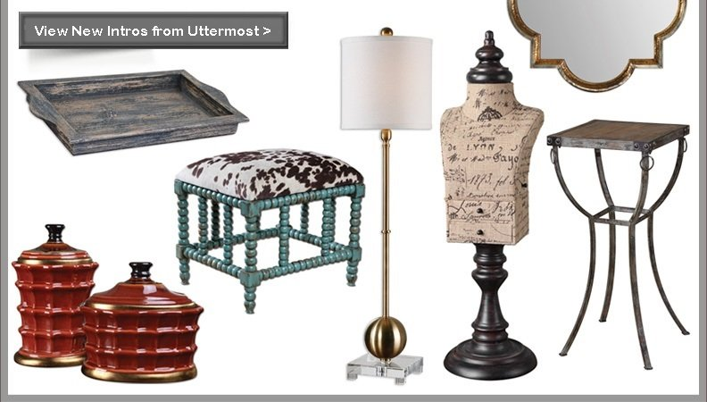 New Product Introductions from Uttermost
