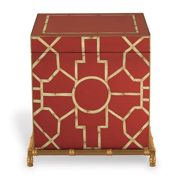 Baldwin Red Trunk / End Table