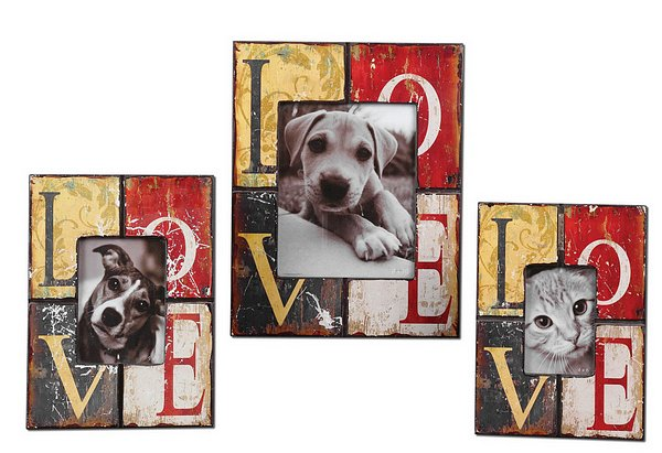 Love Photo Frames, Set/3